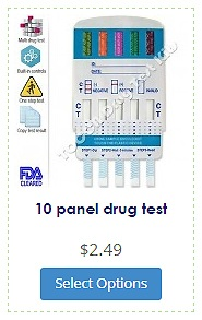 10 panel dip drug test