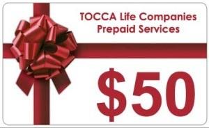 $50 Prepaid Services