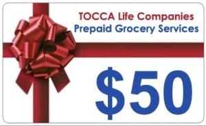 $50 Grocery Prepay