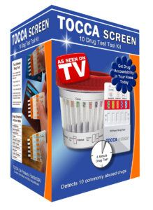 TOCCA SCREEN drug test tool kit
